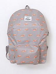 New LIGUO Cute Animal Students Practical Waterproof Folding Travel Bag Shoulder Bag Backpack