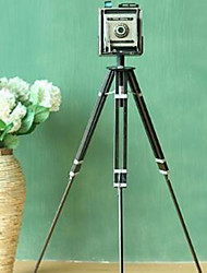 Retro Iron Floor Tripod Camera Model Photography Props Decorations Crafts Ornaments