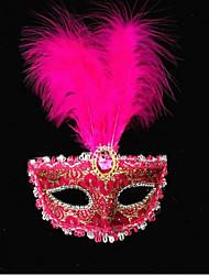 Plastic Wedding Decorations-1Piece/Set Mask Halloween Vintage Theme