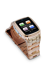 tw810d Edelstahlgehäuse&Riemen / GPRS-Netz / GSM Quad-Band-Telefonanruf / bluetooth Begleiter Smart Watch Phone