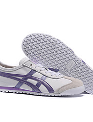 Onitsuka Tiger MEXICO 66 Classic Sneakers men's and women's Casual Shoes White/Purple Euro36-45