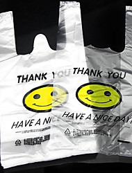 Smile Vest Vest Bags Plastic Bags Shopping Bags Bag Packed 50 A Box Two Packs