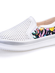 Women's Sneakers Comfort / Round Toe PU / Fabric Outdoor / Athletic / Casual Platform Others / Slip-on