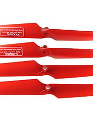 UDI RC Accesorios UDI RC U817 U818A protección de hélice RC cuadricóptero Rojo Plástico 4 PIEZAS