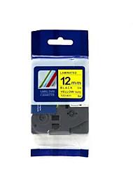 étiquette de 12mm imprimante papier ruban