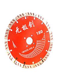 diamante lâmina de serra, modelo: 180x25.4x2.4mm