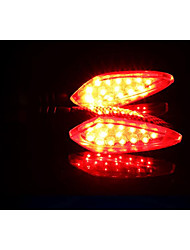 Horizon Motorcycle LED Turn Lights, Off-Road Vehicle 12V Street Running Direction Lights, Turn Indicator Light (1PC)