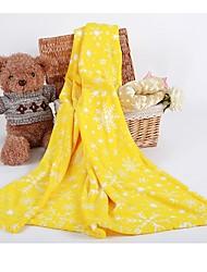 """Super doux A Motifs Carton Coton / Polyester couvertures W47""""×L59""""(W120 x L150cm)"""