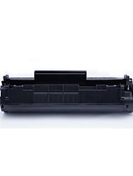 Qing Yun HP1020 HP1010 HP aplicable M1005 1018 Q2612A 12a fácil añadir cartuchos de pólvora páginas impresas 2300