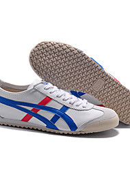 Onitsuka Tiger MEXICO 66 Classic Sneakers men's and women's Casual Shoes White/Blue/Red Euro36-45