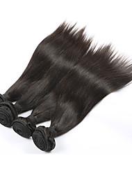 Brazilian Virgin Hair Straight Grade 7A 100% Human Hair Weft Unprocessed Brazilian Straight Hair