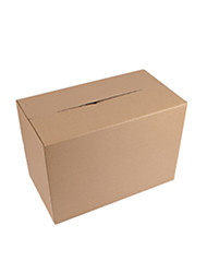 Yellow Color Other Material Packaging & Shipping 10# Five Layer Hard Printing Packing Boxes A Pack of Twelve