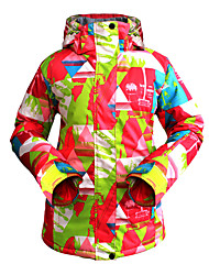 Ski Suit Female Outdoor Waterproof Warm And Breathable Mountaineering Jacket