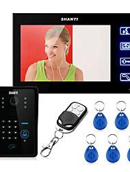 AC220V - 50Гц dc15v1.2a 7 дюймов визуальный дверной звонок бытовые sy806mjids11