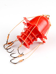 Fishing-1pcs pcs White / Yellow / Red Hard Plastic / Carbon steel-AnmukaSea Fishing / Ice Fishing / Jigging Fishing / Freshwater Fishing