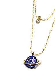 Necklace Pendant Necklaces / Layered Necklaces Jewelry Daily / Casual Double-layer Alloy Gold 1pc Gift
