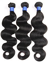 3pc/Lot Bundles Unprocessed Virgin Indian Body Wave Hair Weaving Wefts Hair Extensions