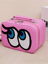 Candy Color Eye Makeup Bag Ladies Cosmetic Box Portable Travel Cosmetic Wash Storage Consolidation Package