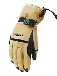 лыжные перчатки Зимние Муж. / Все Спортивные перчатки Сохраняет тепло / Анти-скольжение / Водонепроницаемый / Ветронепроницаемый Перчатки