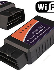 Dual System ELM327 OBD2 WIFI Vehicle Detection Equipment Detector OBD Wireless WIFI ELM327
