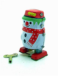 Novelty Toy  Puzzle Toy  Educational Toy  Wind-up Toy Novelty Toy  Penguin  Robot Metal Blue For Kids