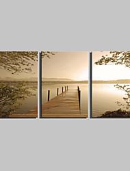 Пейзаж Классика,3 панели Вертикальная Печать Искусство Декор стены For Украшение дома