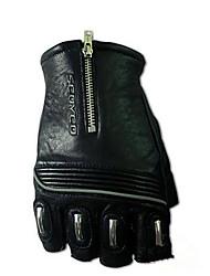 MC25 halb Finger Lederhandschuhe Motorrad fahren Racing Handschuhe