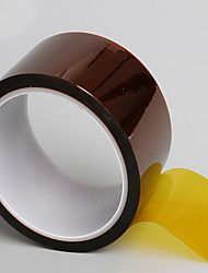 3J Goldfinger Tape Polyimide Film Tape High Temperature Tape Brown Tape Heat Tape 33 Meters