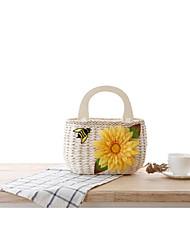 STYLE-CICI® Femme Paillette Cabas Blanc-521219966347