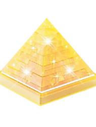 Puzzles Puzzles 3D / Puzzles en Cristal Building Blocks DIY Toys Bâtiments célèbres ABS Doré Maquette & Jeu de Construction