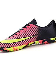 Women's Shoes Synthetic Spring / Summer Comfort Athletic Shoes Athletic Flat Heel Green / Pink / Purple / Gray Soccer