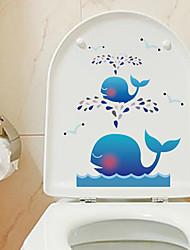 Mode Stickers muraux Stickers avion Stickers muraux décoratifs / Stickers de frigo / Stickers toilettes,PVC Matériel AmovibleDécoration