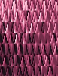 JAMMORY Wallpaper For Home Wall Covering Canvas Adhesive required Mural Pink Irregular Pattern3XL(14'7''*9'2'')