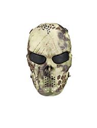 cor amarela, TPU de proteção material de wasteland python acessórios táticos máscara campo