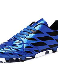 Femme-Sport-Bleu / Jaune / Vert-Talon Plat-Confort-Sneakers-Polyuréthane