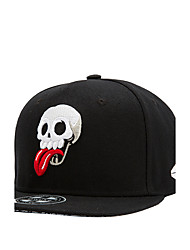 New Street Fashion Men Women Skull Tongue Embroidery Hip Hop Baseball Caps