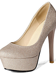 Women's Shoes Stiletto Heel Round Toe Platform Pump More Color Available