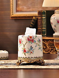 Luxury European-Style Tissue Box Ceramics
