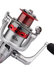 Molinetes Rotativos 5.2:1 10 Rolamentos Trocável Pesca de Mar / Rotação / Pesca de Água Doce / Pesca Geral-BK3000 #