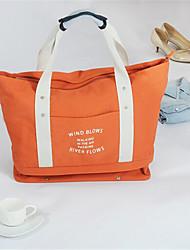 Portable Folding Travelling Bag Waterproof Travelling Bag Female Large Capacity Travel Canvas Hand Luggage Bag