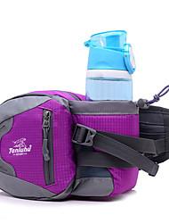 2.5 L Hüfttaschen Camping & Wandern Reisen Draußen Multifunktions Gelb Nylon