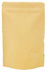 Complex Kraft Ziplock Bags Standing Bag Of Nuts Moisture-Proof Food Packaging Bags A Pack Of Ten 9 * 14 * 3 Cm