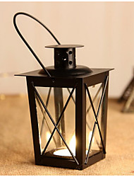 Continental Iron Candlestick Crafts for Home Decorations