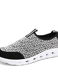 Unisex-Loafers & Slip-Ons-Lässig-Tüll-Flacher Absatz-Komfort-Schwarz Blau Rot Grau
