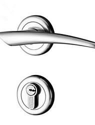 Dorlink® Contemporary Zinc Keyed Entry Door Lock Silver