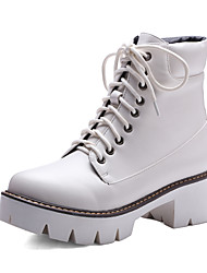 Women's Boots Spring / Fall / Winter Platform / Fashion Boots / Motorcycle Boots / Round Toe  Dress / Casual Chunky Heel
