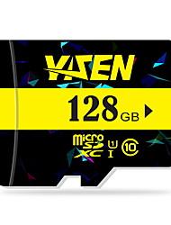 yisen 128GB UHS-I u1 / aula 10 microSD / microSDHC / microSDXC / tfmax ler speed80 (mb / s)
