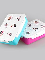 bento box plstic tipo crianças caixa de almoço com prato de sopa