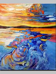 ручная роспись абстрактный пейзаж маслом на холсте стены искусства картины с растянутой кадр готов повесить