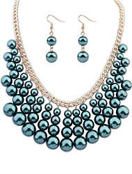 nueva moda sistemas de la joyería de Europa y América / collar / pendientes